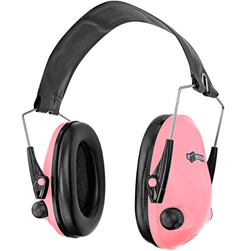 Boomstick Gun Accessories Electronic Ear Muff, Pink by Boomstick Gun Accessories