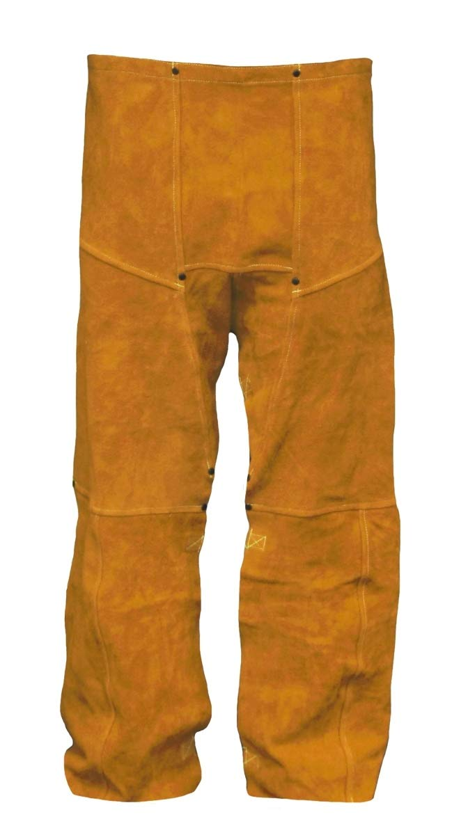 Stanco Safety Products 40'' X 32'' Green Cotton Flame Resistant Work Pants With Zipper Closure