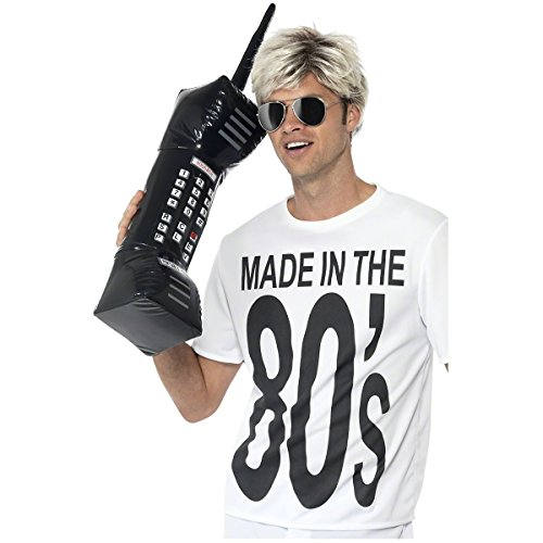 80s Phone (Inflatable Retro Mobile Phone Costume Accessory)