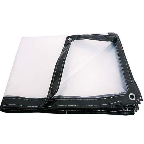 Lona Transparente Tela Impermeable A Prueba De Lluvia Cobertor Impermeable Espesar Cubrir La Lluvia 2X3m (