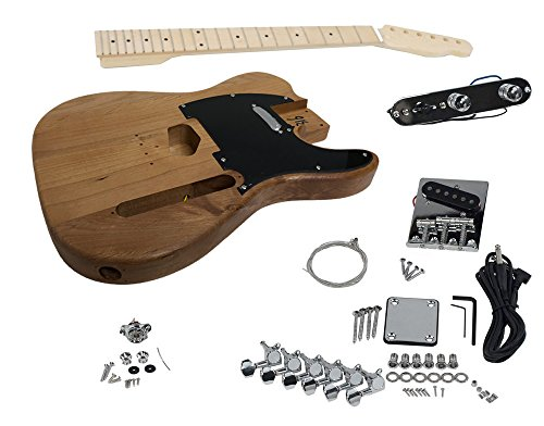 Solo TC Style DIY Guitar Kit, Alder Body, Maple FB