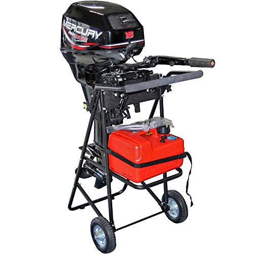 Rage Powersports OMC-F130 30 HP Folding Outboard Motor Cart & Engine Stand (Outboard Equipment)
