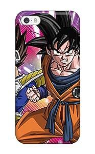 Iphone 5/5s Hard Back With Bumper Silicone Gel Tpu Case Cover Goku And Vegeta 3397901K22655604