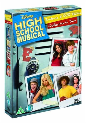 High School Musical 1-3 and DVD Game Box Set [Import anglais] (High School Musical 2 Dvd Game)