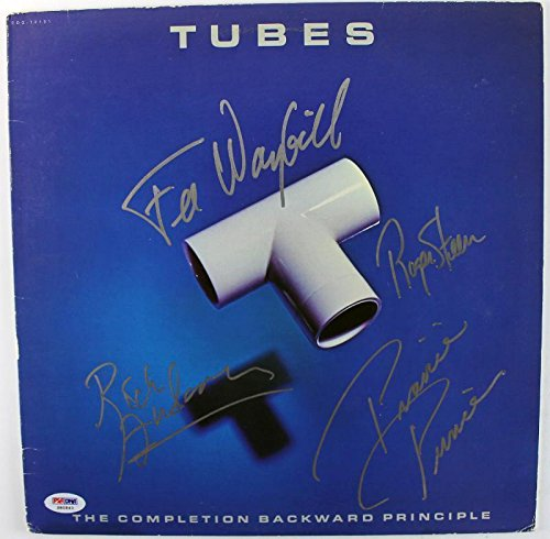 Tubes (4) Steen Anderson Prince & Waybill Signed Album Cover W/Vinyl S80843 - PSA/DNA Certified - Anderson Vinyl Tube