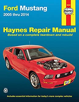 ford mustang 2005 thru 2014 haynes repair manual editors of rh amazon com 2010 mustang shop manual 2011 ford mustang shop manual
