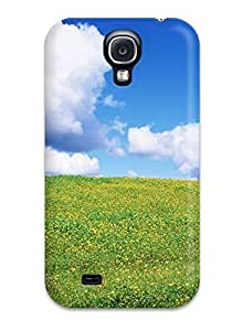 For Galaxy Case, High Quality May Glade Hill Month Season Life Beginning Flowers Nature Spring For Galaxy S4 Cover Cases