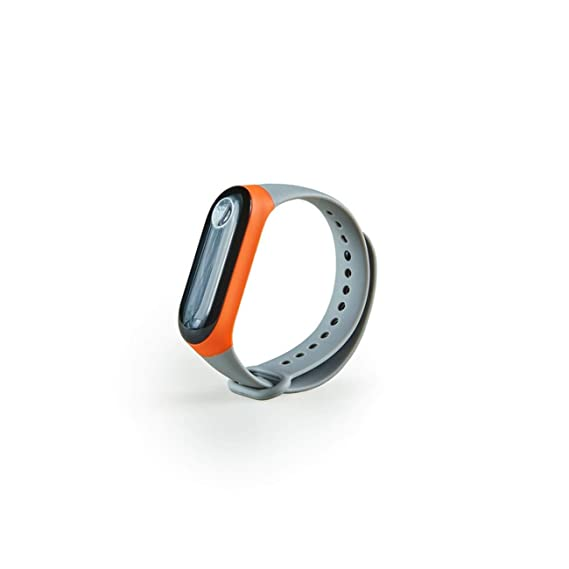 Hombre Mujer Reloj Correa para La MuñEca con Reloj De Reemplazo De Silicona Xiaomi Mi Band