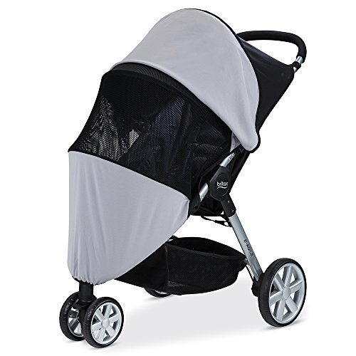 (Britax Single B-Agile, B-Free, Pathway Strollers UPF 50+ Sun and Bug Cover)