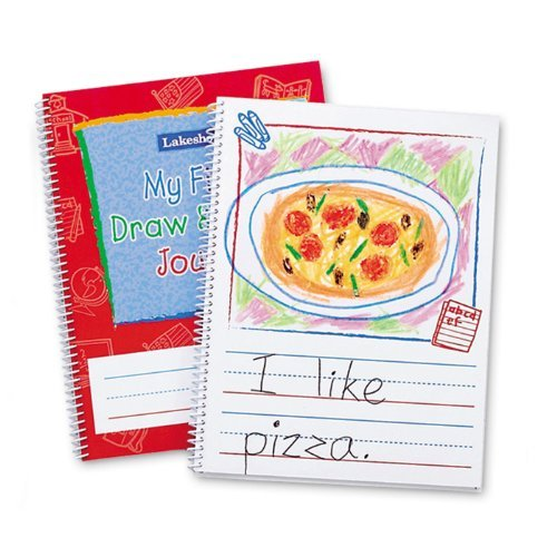 Young Writers Draw & Write Journal by  Lakeshore