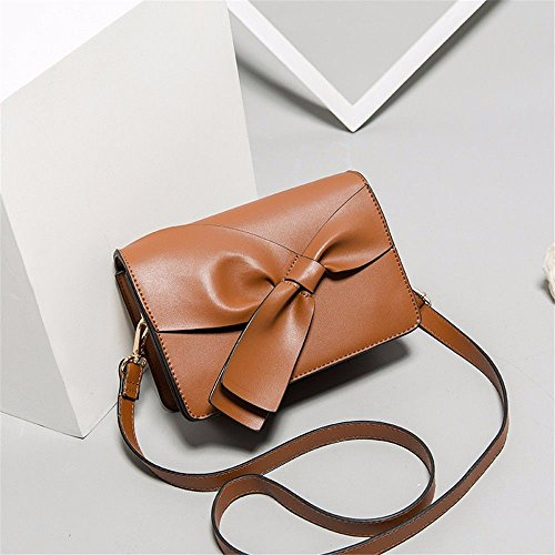 Mszyz Bag Fashion Gifts Girl With A Single White Shoulder Bag Brown