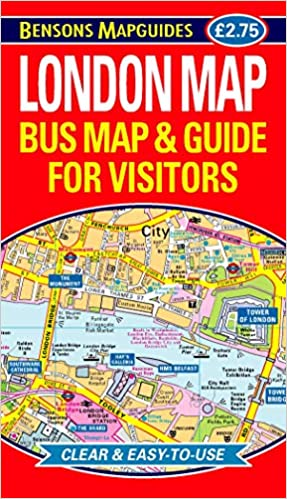 London Map Guide.London Map Bus Map And Guide For Visitors Amazon Co Uk Bensons