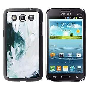 For Samsung Galaxy Win / I8550 / I8552 / Grand Quattro Case , Art Painting Snow Oil Ice - Diseño Patrón Teléfono Caso Cubierta Case Bumper Duro Protección Case Cover Funda