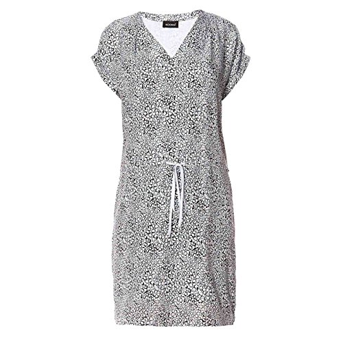 KOOKAI Damen Kleid Seide Dress Floral Größe 38 Farbe Blau qtVpF ...