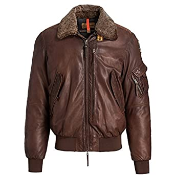 Parajumpers - Blouson Cuir Josh leather - Marron, L