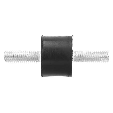 Liukouu 4pcs M6 supporti di gomma maschio anti vibrazione Silentblock Car Boat Bobbins VV20 * 15 M6 * 18
