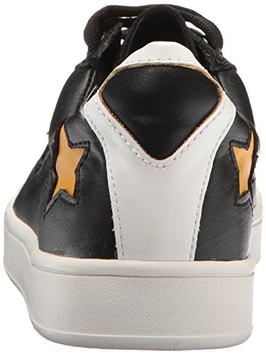 Steve Madden Kvinders Grænse Mode Sneaker Sort 8IJzO
