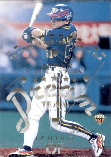 BBM1999 ベースボールカード ドリームチーム No.D8 イチロー