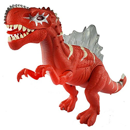 [Electronic Dinosaur Toys Sounding Flashing Moving Gift for Children and Kids (Red)] (Transformers 4 Lockdown Costume)