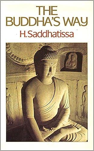 Saddhatissa Buddha's Way cover art