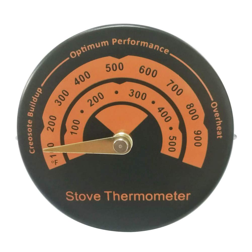 Magnetic Oven Thermometer Mini Fast Reading Aluminum Alloy Temperature Monitor Meter Stove Flue Pipe Thermometer Home Kitchen Gauge YOEDAF