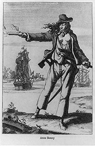 HistoricalFindings Photo: Anne Bonny,1700-1782,Irish woman,Famous Pirate,operated in Caribbean