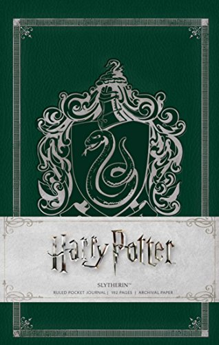 Harry Potter: Slytherin Ruled Pocket Journal (Insights Journals) [Insight Editions] (Tapa Dura)