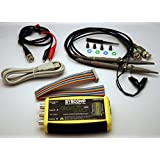 Syscomp CGM-102, Open Source Multi-Function 2MS/s Dual Channel, 11-bit USB Oscilloscope Kit