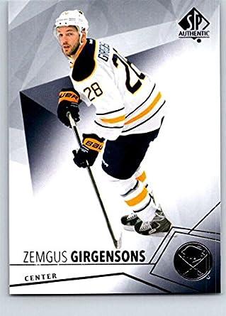 e091cdb3d Amazon.com: 2015-16 Upper Deck SP Authentic #14 Zemgus Girgensons ...