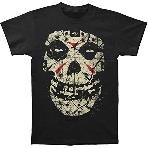 Misfits Men's Fiend Crystal Lake Slim Fit T-shirt X-Large Black ()