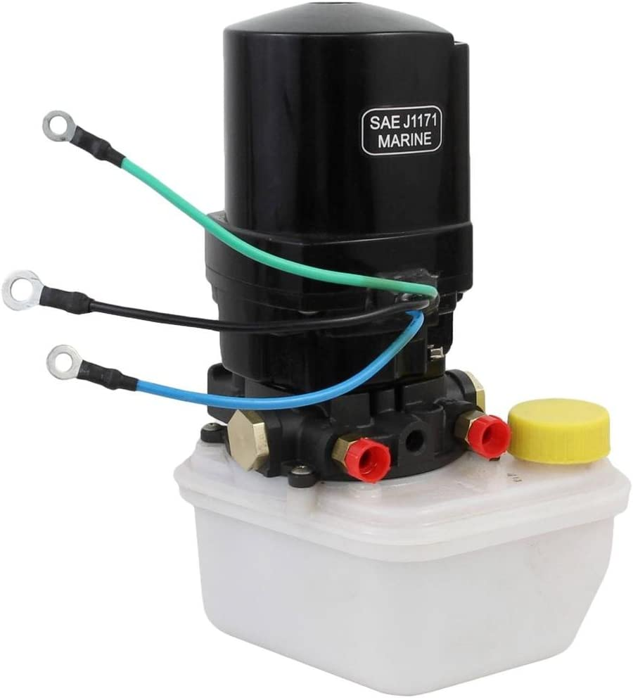 Rareelectrical NEW TILT TRIM MOTOR W/RESERVOIR COMPATIBLE WITH MERCURY MARINE REPLACES 14336A8 88183A12