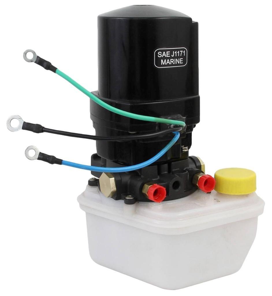 New Tilt Trim MOTOR w/ Pump and Reservoir FITS Mercury Marine 14336a20, 14336a8, 8...