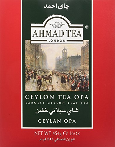 - Ahmad Ceylon OPA Loose Leaf Tea in Paper Carton 16oz/454g (769)