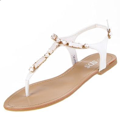 Zehentrenner Sandale - weiß Wählen Sie Eine Beste Online vq9Bl1