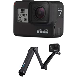 GoPro Hero7 Black with Free 3 Way Grip Action Cameras