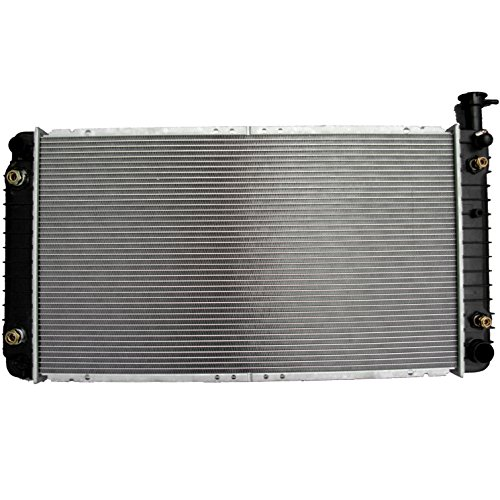ECCPP New Aluminum Radiator 1489 fits for 1992-1996 Chevrolet G30 Beauville 1-1/4 In Thickness