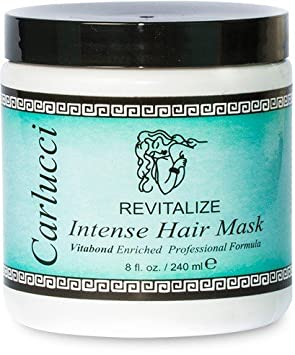 Carlucci Revitalize Intense Hair Mask, 8 Ounce