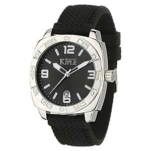 Kiple KHC 506/AA - Reloj , correa de cuero color negro
