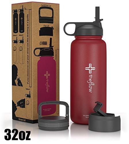 steel water bottle straw - 2