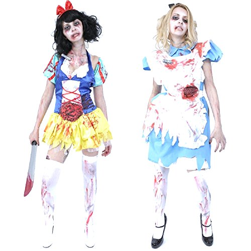 Zombie Alice Costumes (Zombie Collection - Zombie Classical Alice Costume)