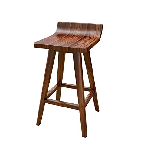 Terrific Amazon Com Liuyunyan Bar Chair Pure Wood Dinette Leisure Gmtry Best Dining Table And Chair Ideas Images Gmtryco