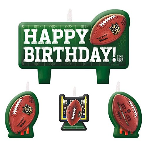 Amscan NFL Candle Set Amscan International 171214
