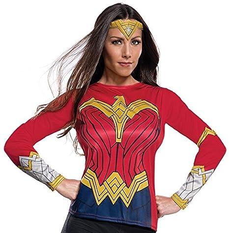 Rubies Womens Wonder Woman Adult Costume Top