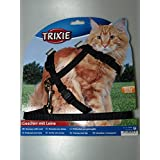 Trixie 41960 Cat Set of Harness and Lead for Large Cats Nylon 34 - 57 cm / 13 mm by EFNT4