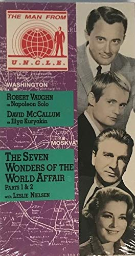 Man From U.N.C.L.E., Volume 8, The Seven Wonders of the World Affair (Parts 1 & 2) (UNCLE) [VHS]