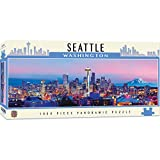 Master Pieces Cityscape - Seattle 1000pc Panoramic Puzzle