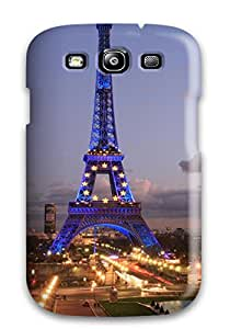 Christmas Gifts durable Protection Case Cover For Galaxy S3(eiffel Tower) 3650018K42447679
