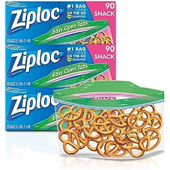 Amazon.com: Ziploc Sandwich Bags, 280 ct: Health & Personal Care