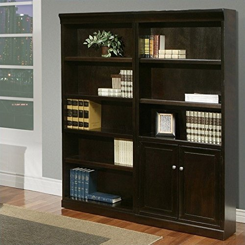 Martin Fulton 2 Piece Wall Bookcase Set