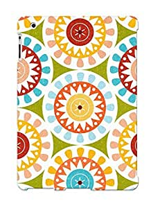Crazinesswith Protection Case For Ipad 2/3/4 / Case Cover For Christmas Day Gift(floral Pattern)
